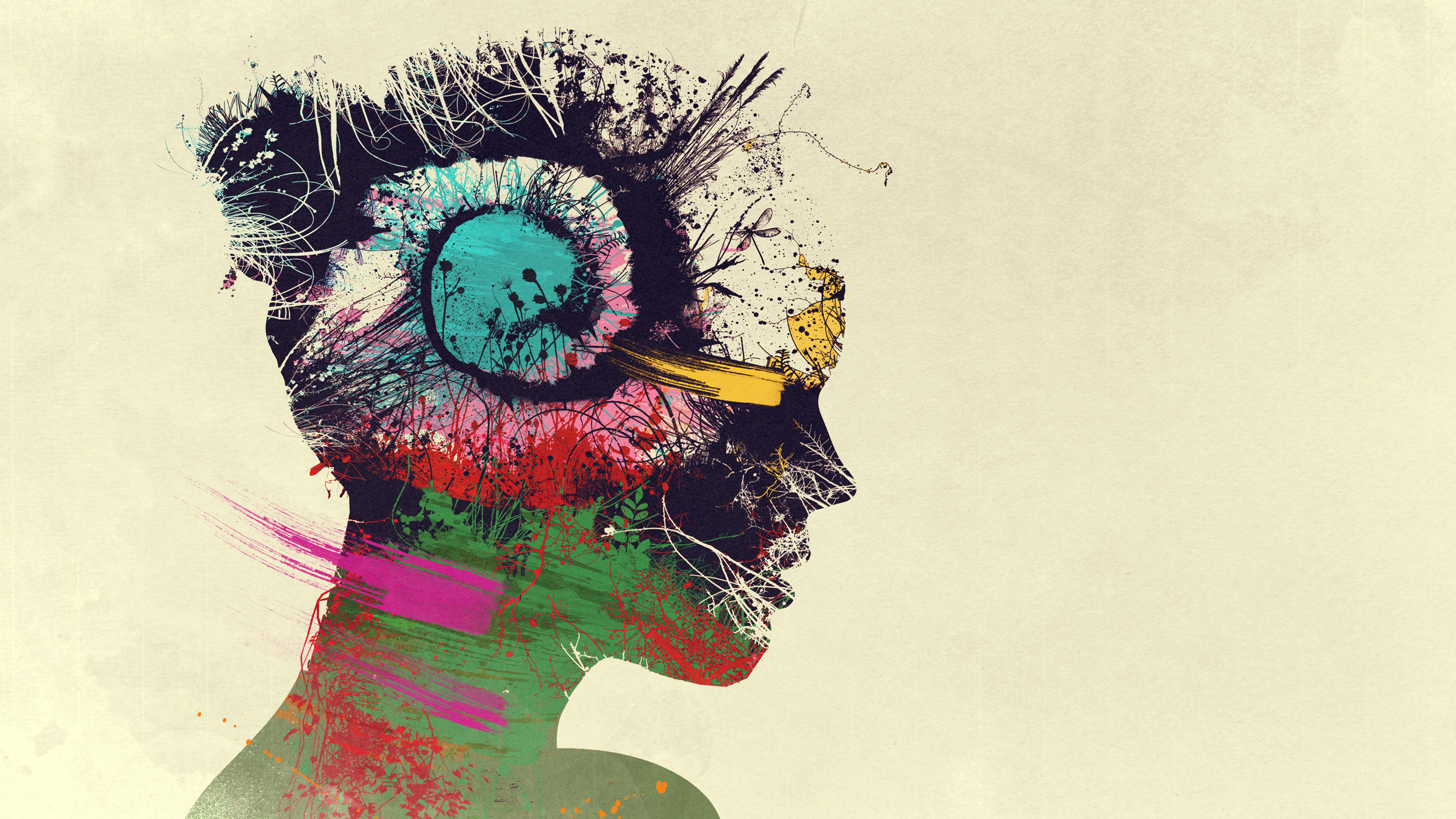 Psychedelic Hd Wallpaper Background Image 2560x1440 Id