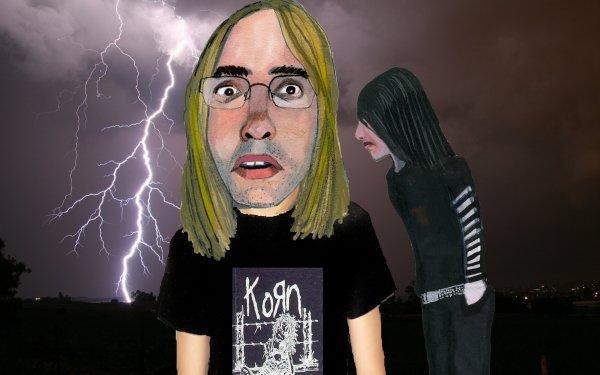 Dark Emo Korn HD Wallpaper   Background Image