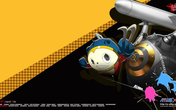 Video Game Persona 4: Arena Persona Teddie HD Wallpaper | Background Image