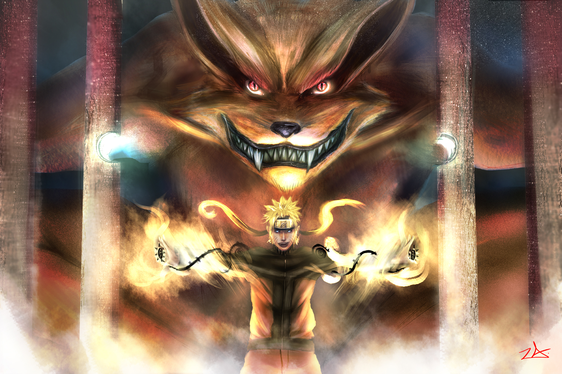95 Kurama  Naruto  Hd Wallpapers