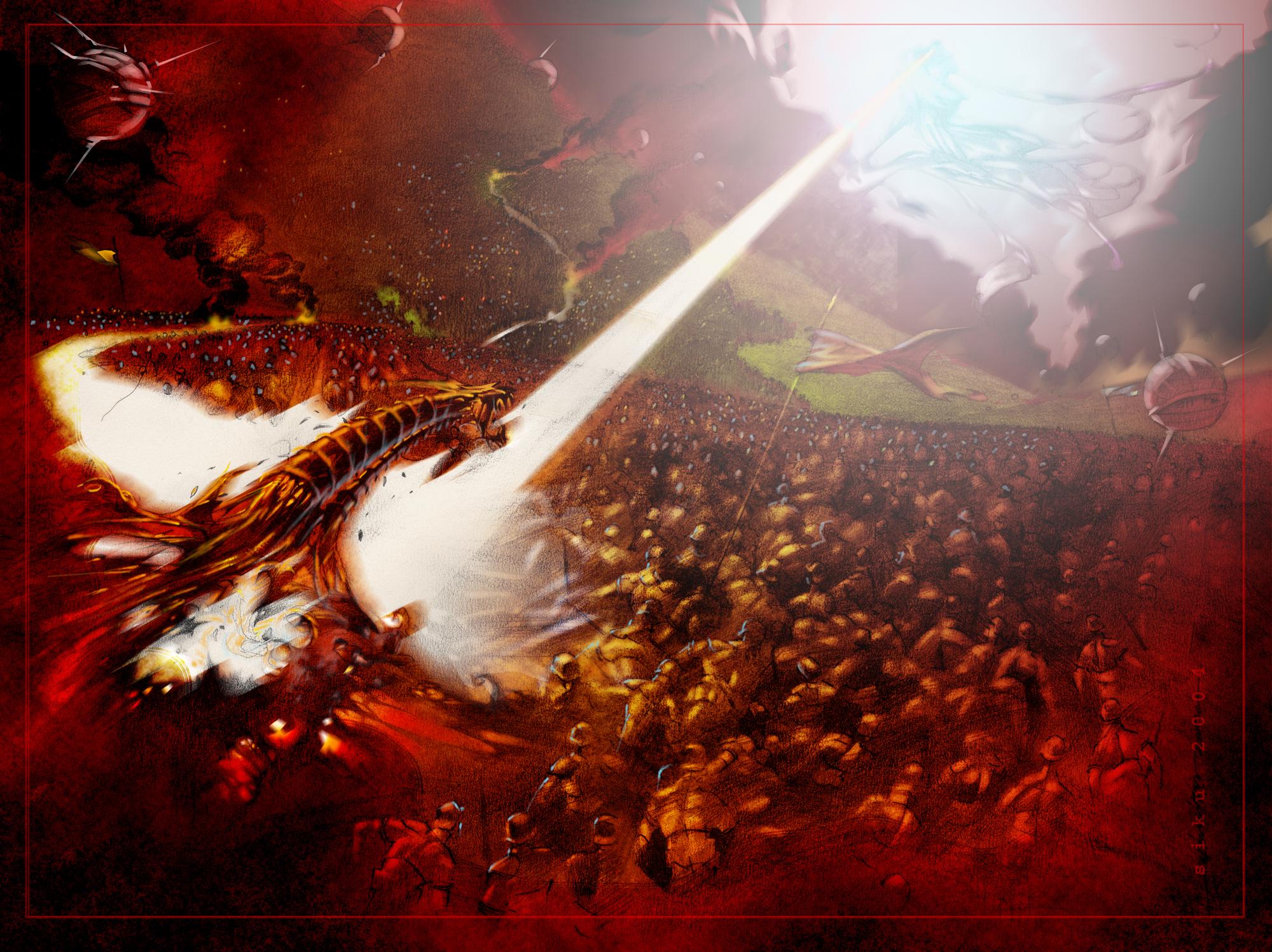 The Battle of Armageddon HD Wallpaper | Background Image ... - photo#5