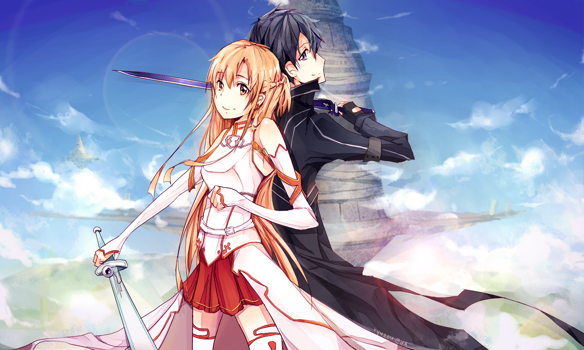 Sword Art Online Background: 1070 Kirito (Sword Art Online) HD Wallpapers