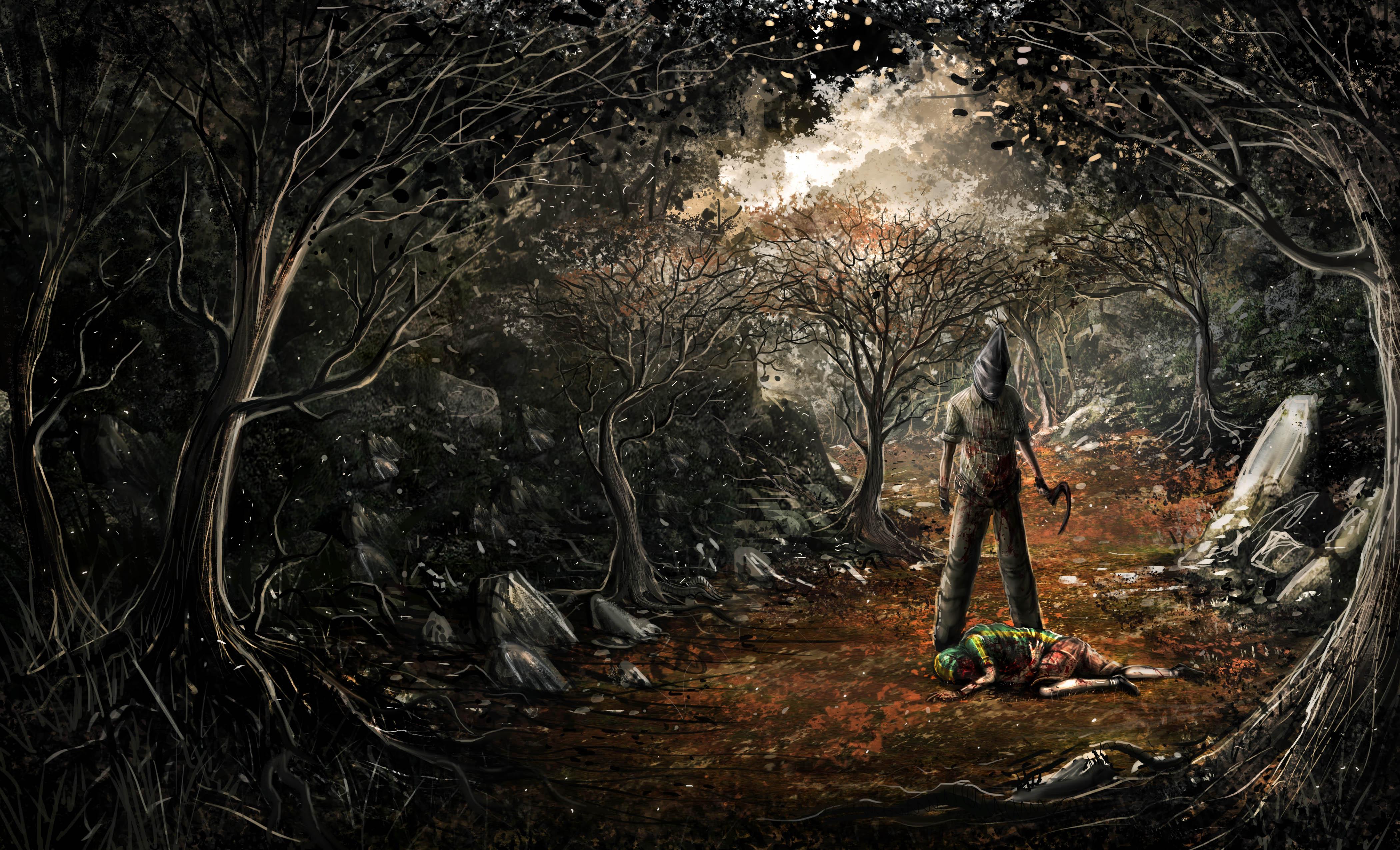 evil landscape background - photo #14