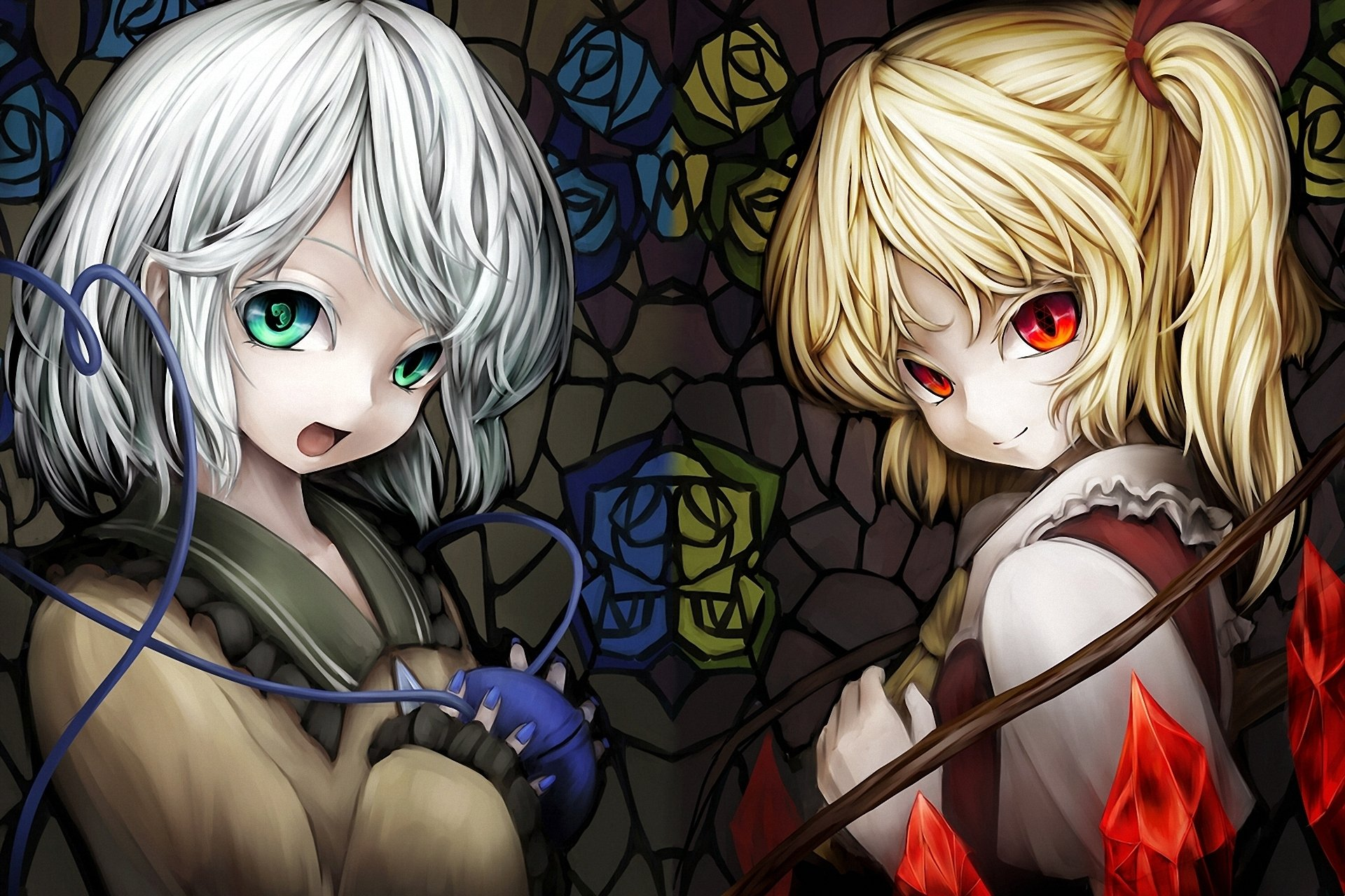 Anime - Touhou  Flandre Scarlet Koishi Komeiji Wallpaper