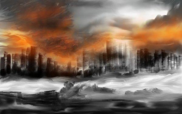 Ciencia ficción Apocalíptico Armageddon Fondo de pantalla HD   Fondo de Escritorio