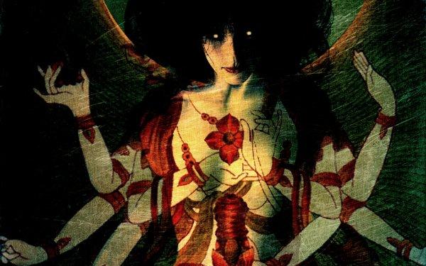 Dark Occult Horror Creepy Spooky Scary Halloween Krishna Gothic Emo HD Wallpaper | Background Image