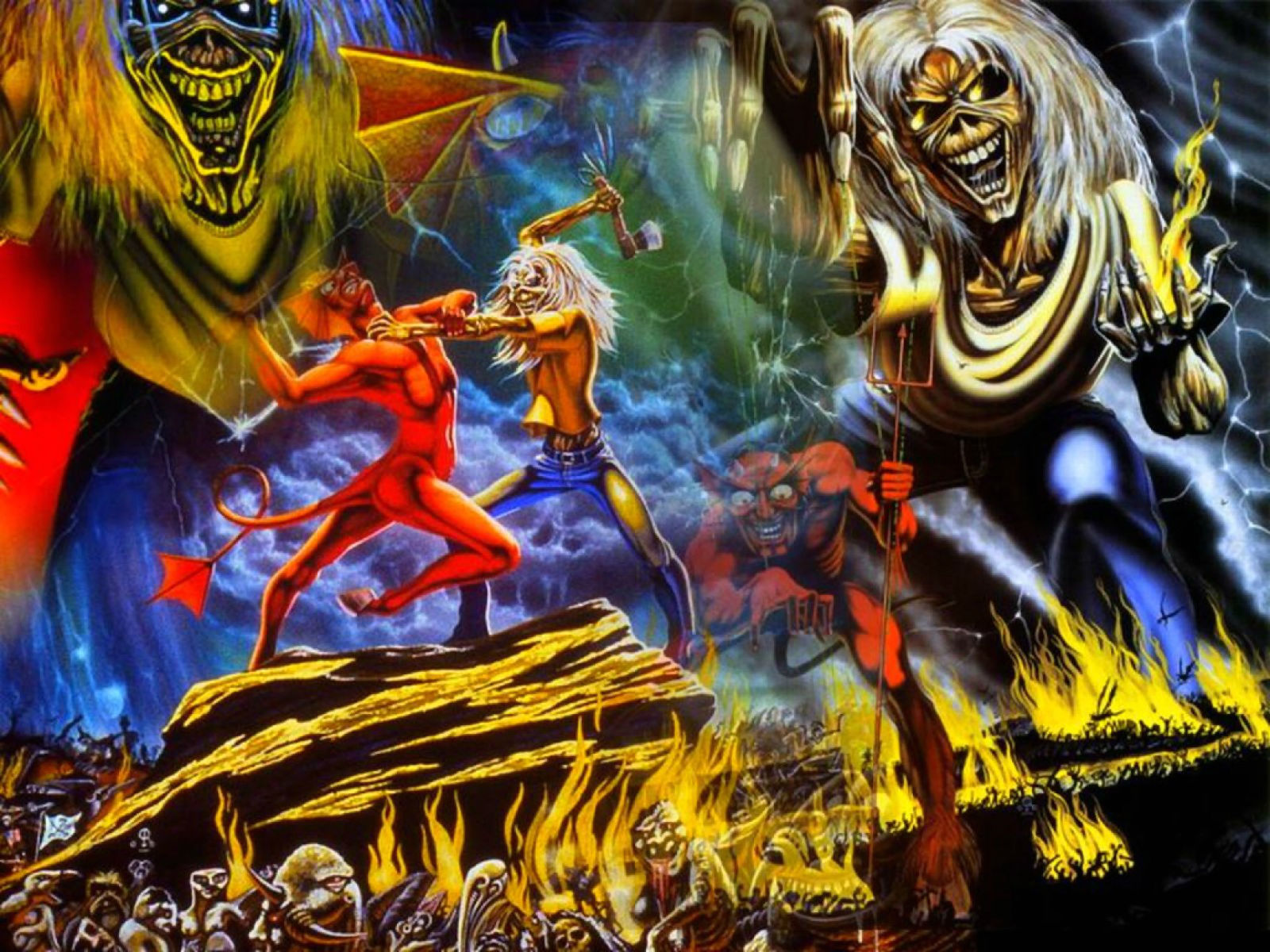 iron maiden wallpapers covers - photo #18