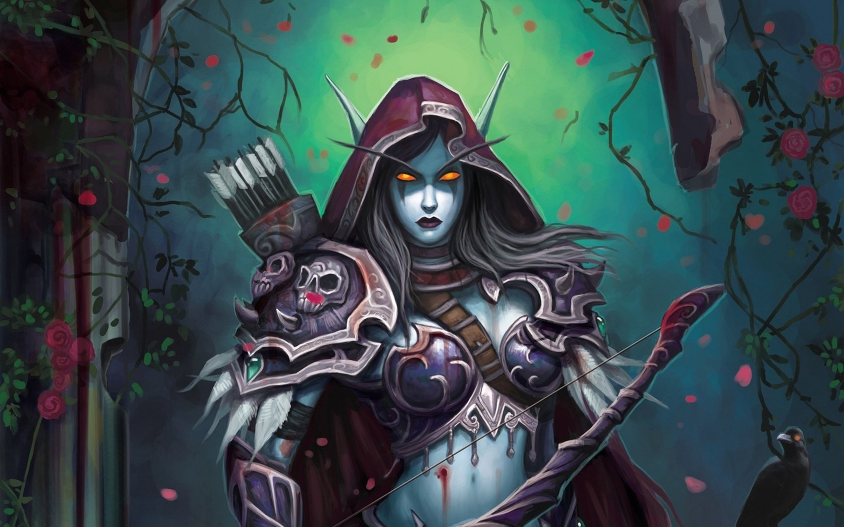 63 Sylvanas Windrunner Hd Wallpapers Background Images Wallpaper Abyss