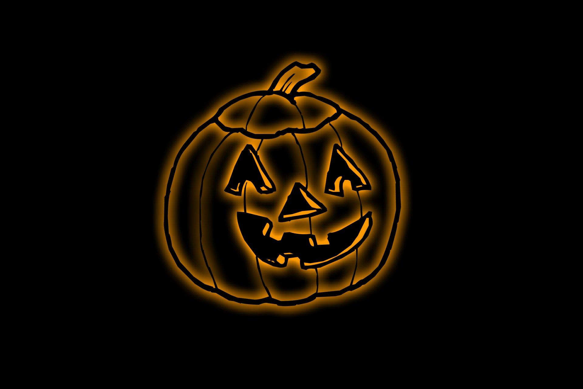 Holiday - Halloween  Pumpkin Jack-o'-lantern Wallpaper