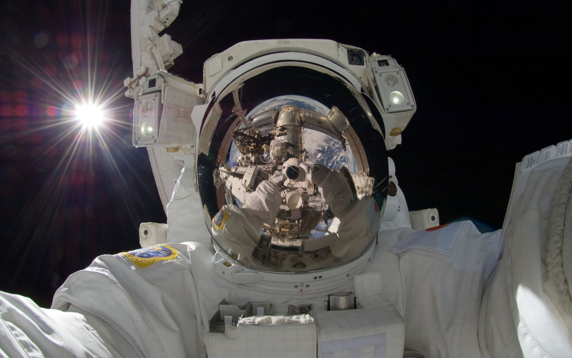 Sci Fi - Astronaut  NASA Space Wallpaper