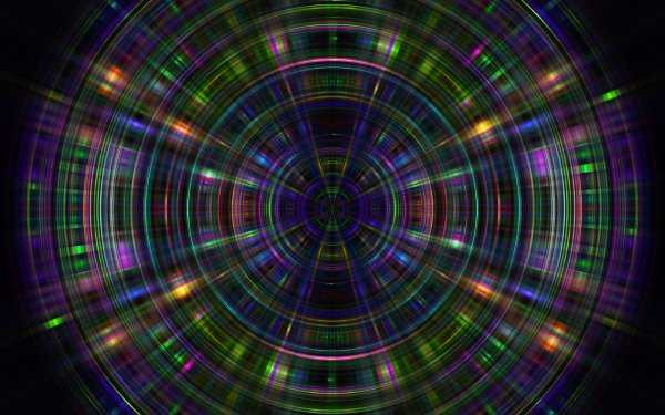 Abstract Mind Teaser CGI 3D Psychedelic Trippy HD Wallpaper | Background Image