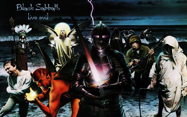 Music Black Sabbath Band (Music) United Kingdom Heavy Metal Hard Rock Album Cover HD Wallpaper | Background Image