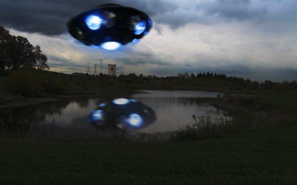 Sciencefiction Ruimteschip Alien UFO Manipulatie HD Wallpaper | Achtergrond