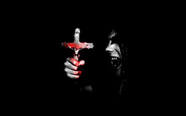 Dark Occult Satanic Satanism Cross Evil HD Wallpaper | Background Image