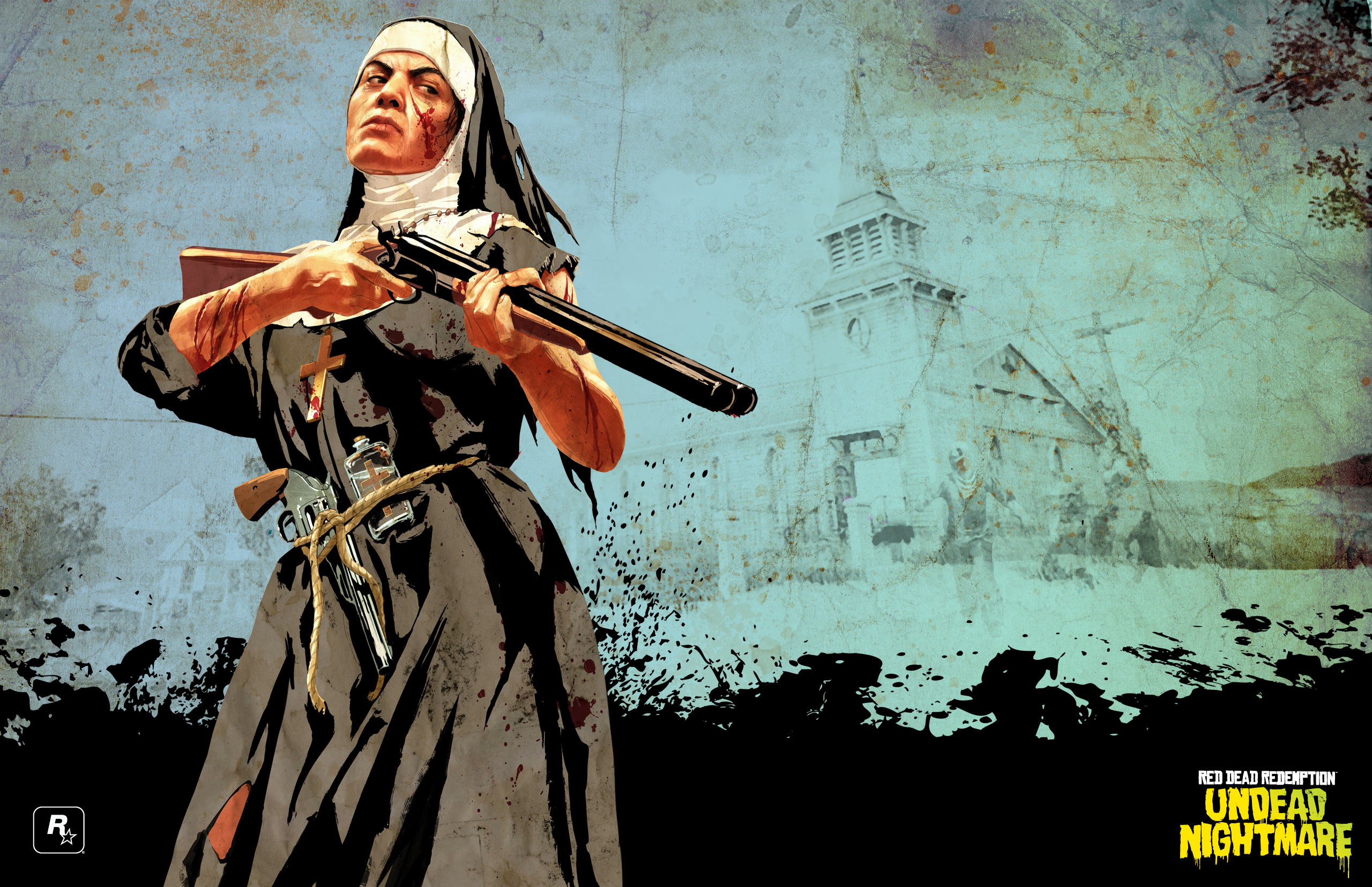5 Red Dead Redemption Undead Nightmare Hd Wallpapers Background