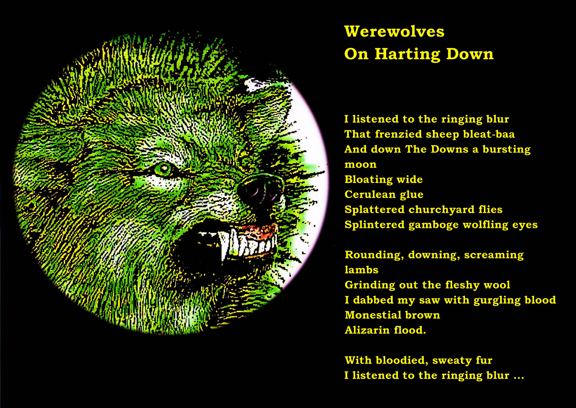 Werewolf Full HD Wallpaper And Background Image