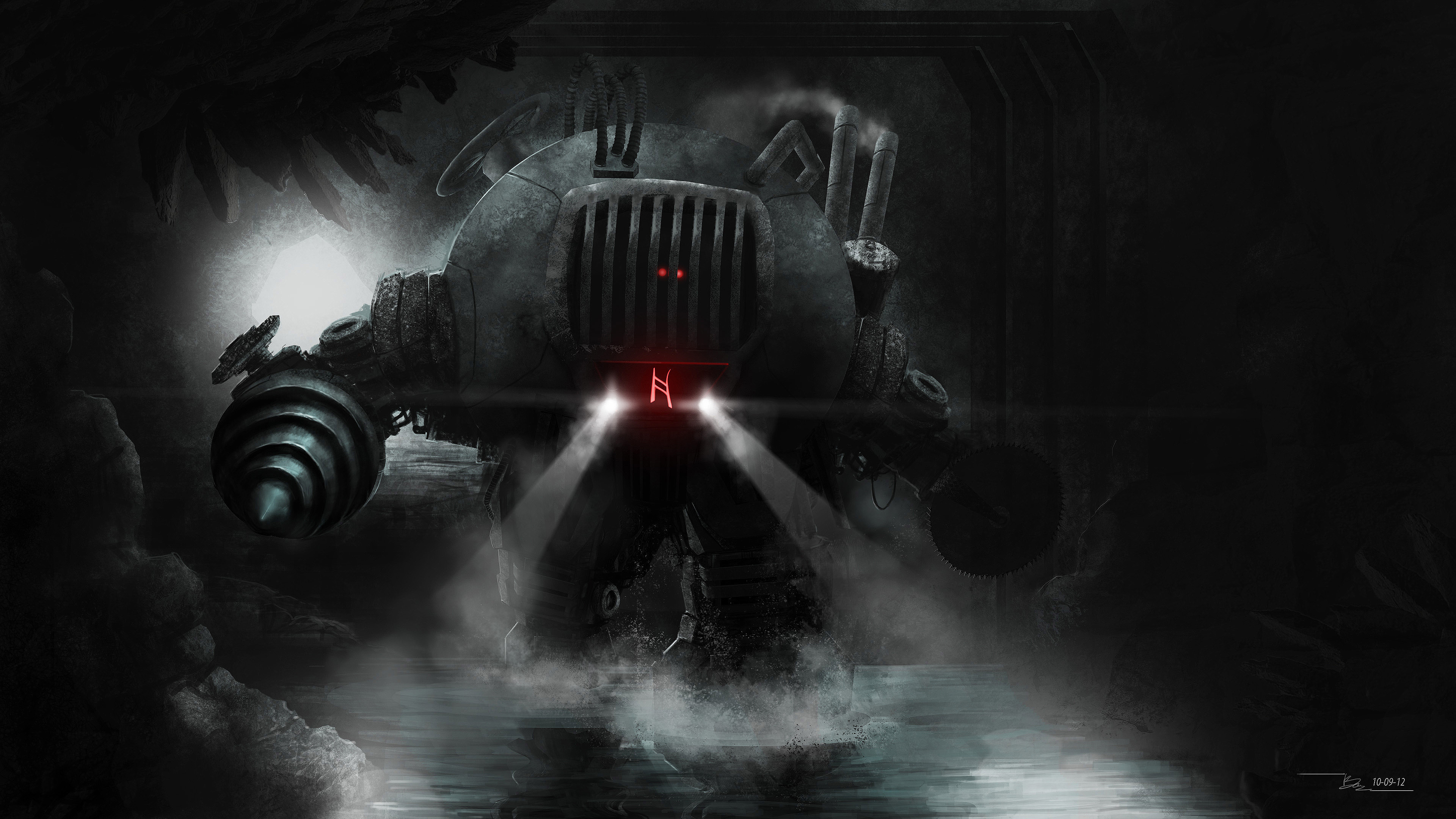 http://meewtoo.deviantart.com/art/Arcane-Bot-326401258 4k ...