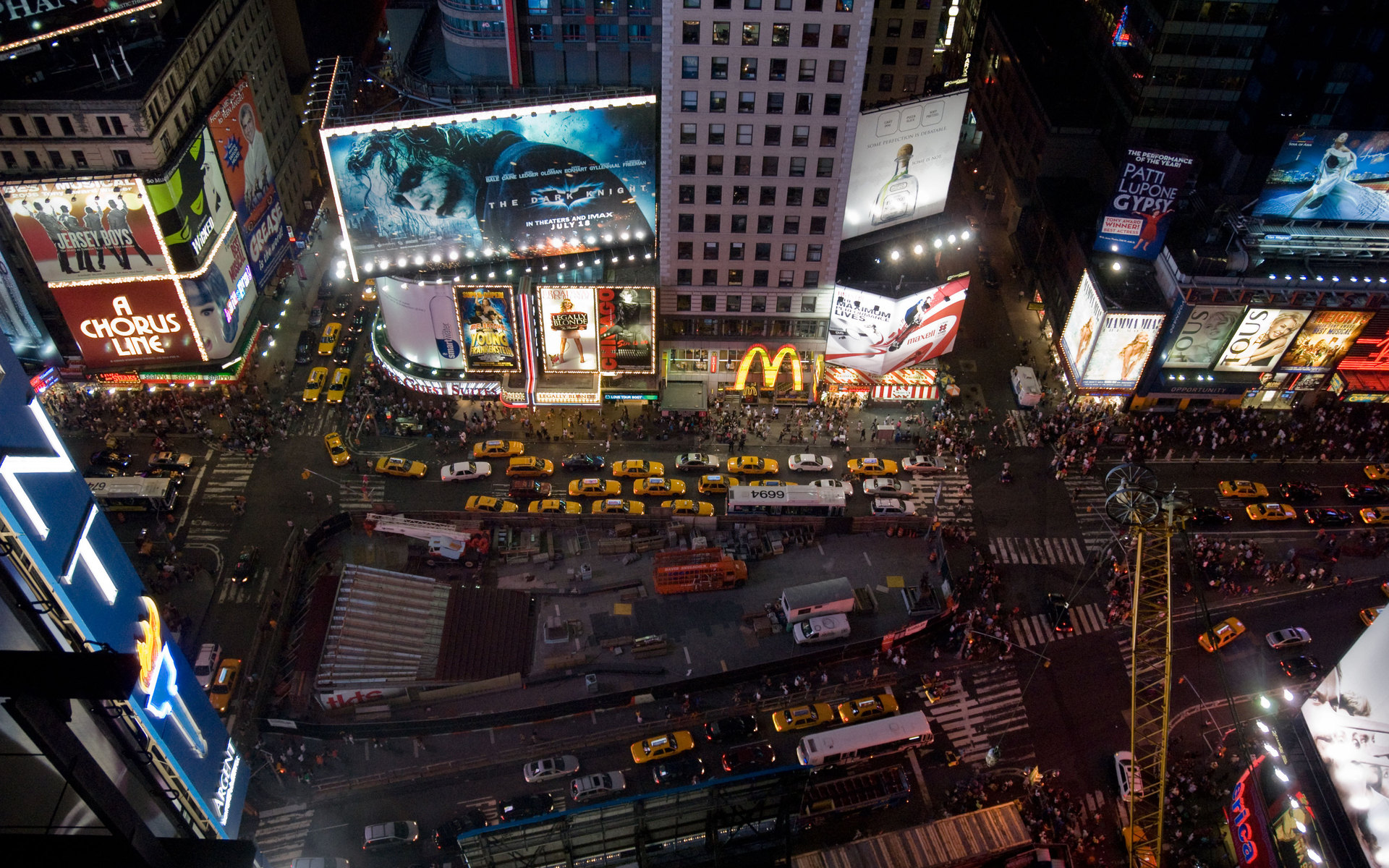 new york, times square Full HD Wallpaper and Background ...