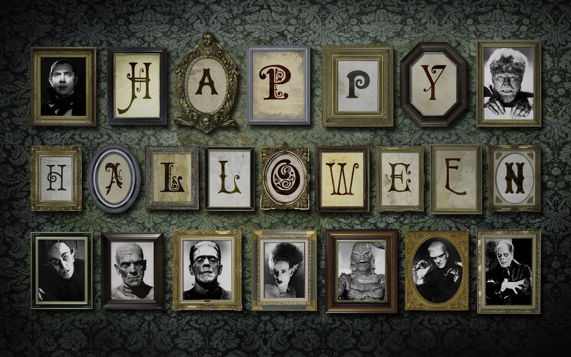 hd wallpaper background id305287 - Creepy Halloween Wallpapers
