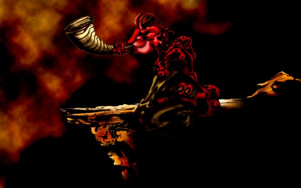 Oscuro Demonio Oculto Fuego Llama Hell Satanic Satanism Fondo de pantalla HD | Fondo de Escritorio