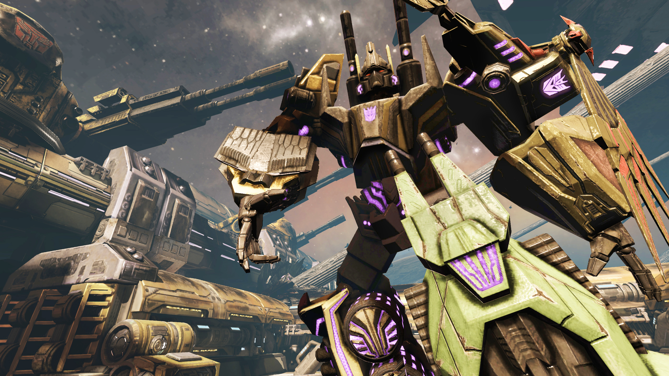 can i download transformers foc on ps4