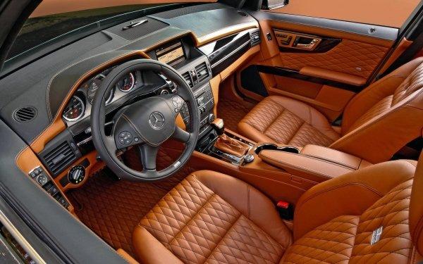 Vehicles Mercedes-Benz GLK-Class Mercedes-Benz Mercedes Interior HD Wallpaper | Background Image