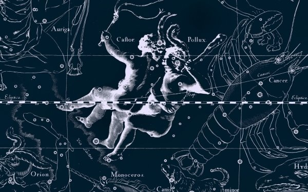 Fantasy Zodiac Zodiac Sign Horoscope Gemini HD Wallpaper | Background Image