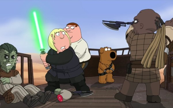 TV Show Family Guy Cartoon Star Wars Peter Griffin Chris Griffin Brian Griffin HD Wallpaper | Background Image