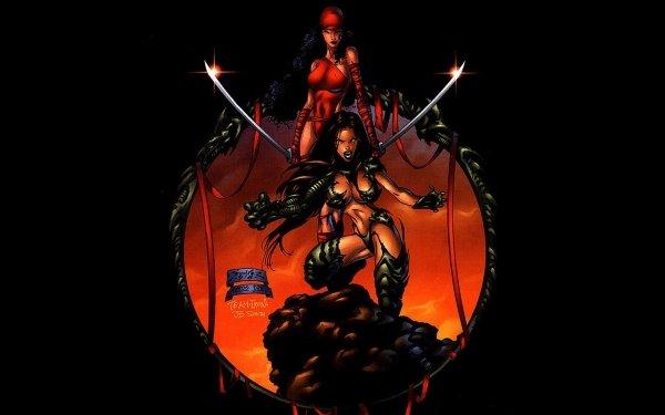 Comics Witchblade Elektra HD Wallpaper | Background Image