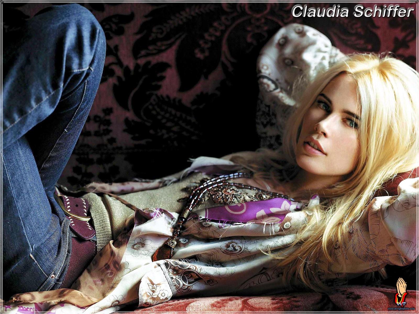 Claudia Schiffer Fondo de Pantalla and Fondo de Escritorio ... ecdfaf996741