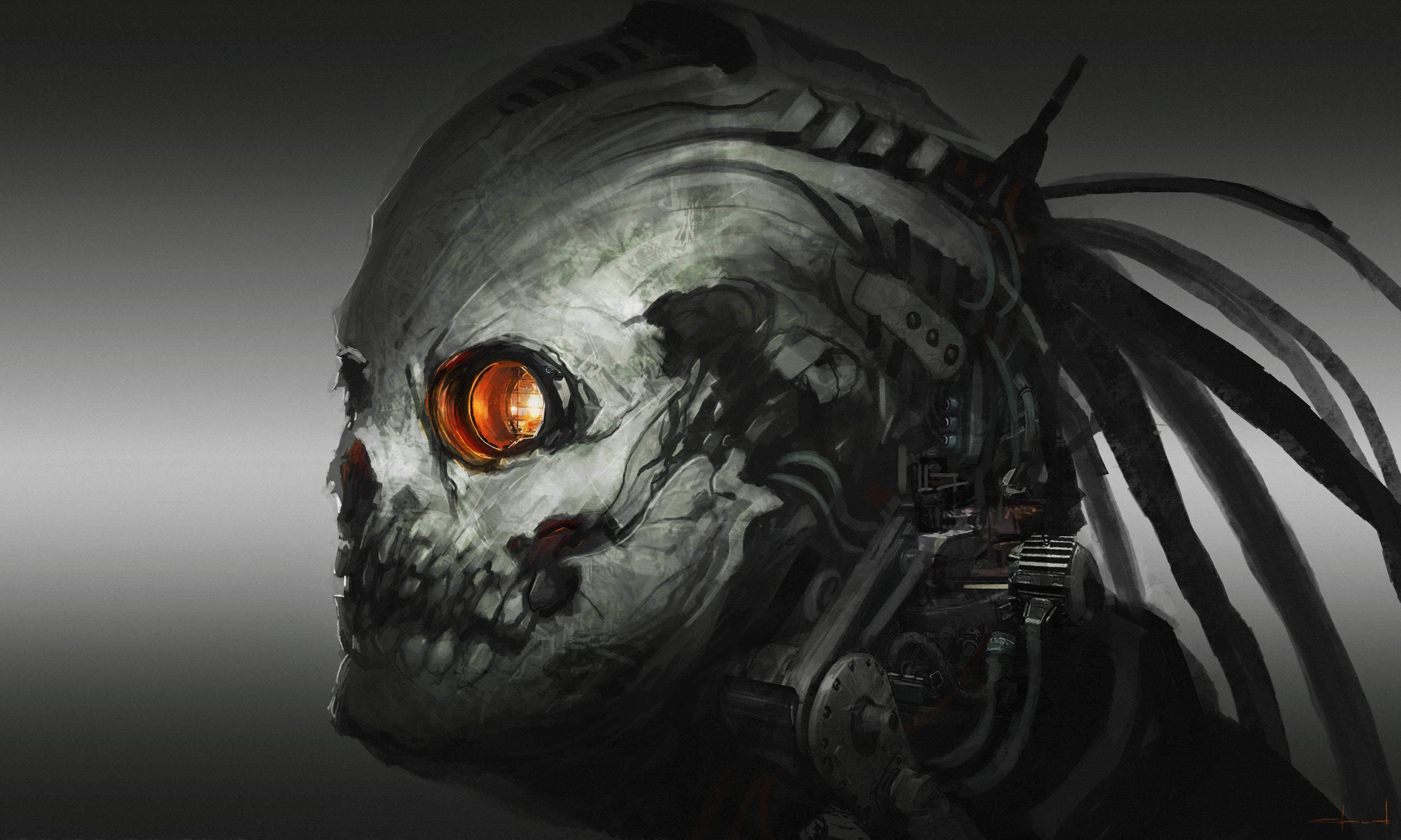 Skull 4k ultra hd wallpaper background image 4000x2400 - Devil skull wallpaper ...