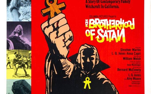 Movie The Brotherhood of Satan Satanic Satanism Satan Evil Horror HD Wallpaper | Background Image