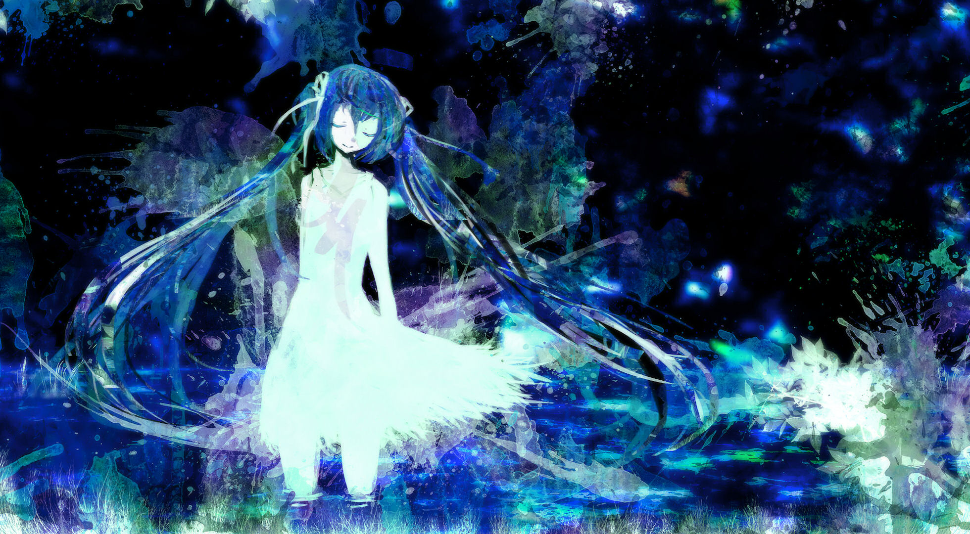 Vocaloid hd wallpaper background image 1960x1080 id - Wallpaper computer anime ...