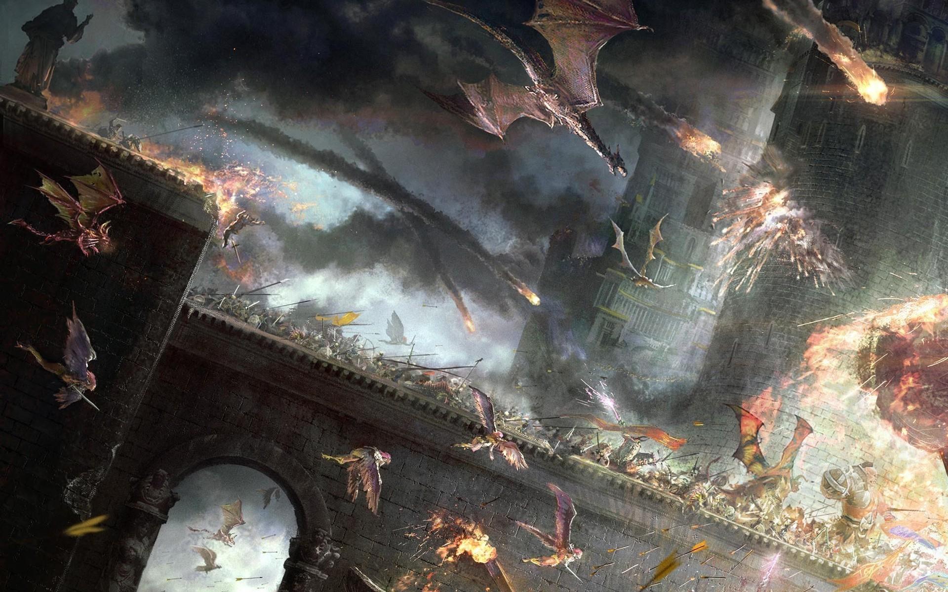Fantasy Battle - Fantasy Battle Fantasy Wallpaper