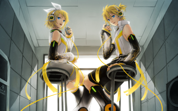 787 len kagamine hd wallpapers background images