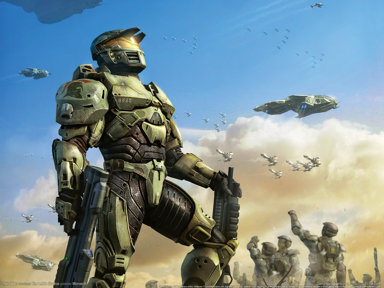 Halo wars wallpaper and background image 1600x1200 id 309135 wallpaper abyss - Wallpaper halo wars ...