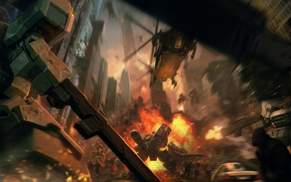 Video Game Front Mission HD Wallpaper | Background Image