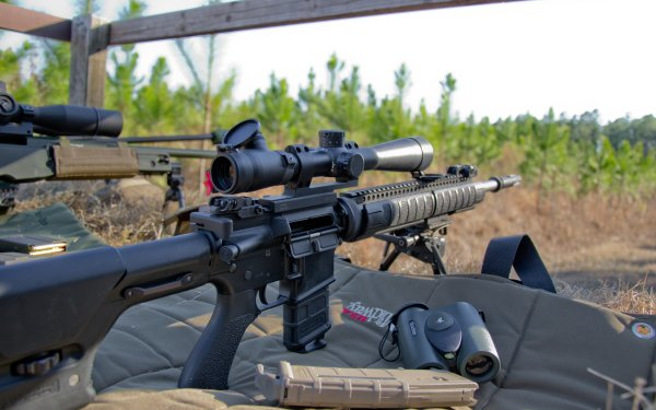 Weapons Sniper Rifle HD Wallpaper   Background Image