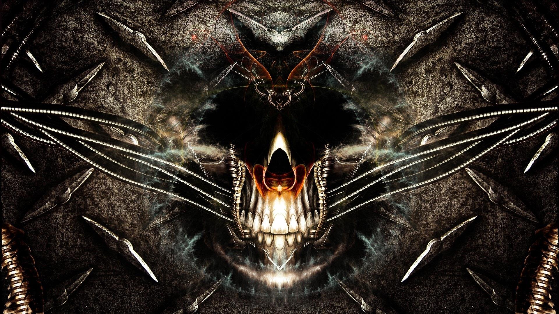 Skull Full HD Wallpaper And Background  1920x1080 ID311094