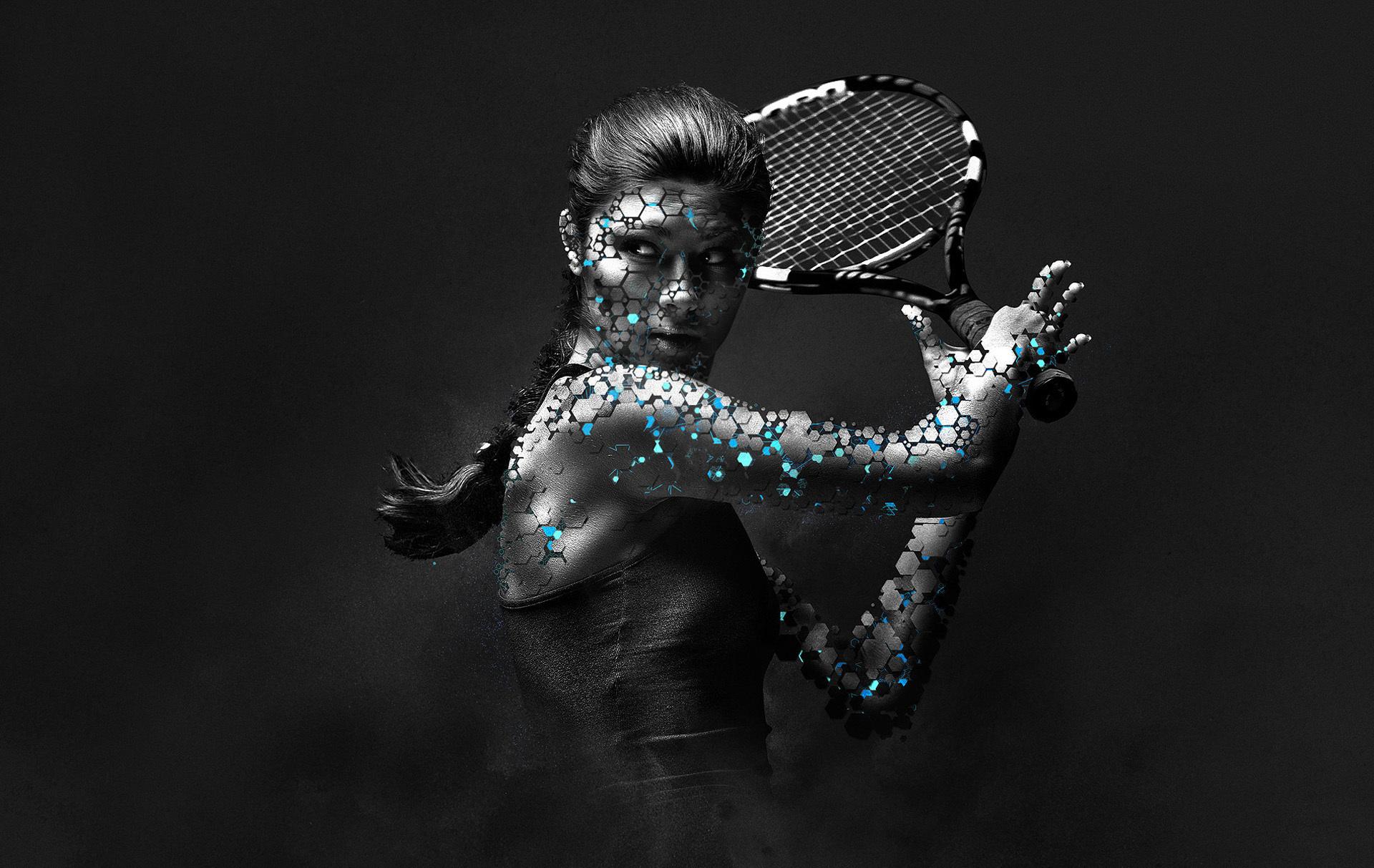 3d Sports Backgrounds: Tennis Computer Wallpapers, Desktop Backgrounds