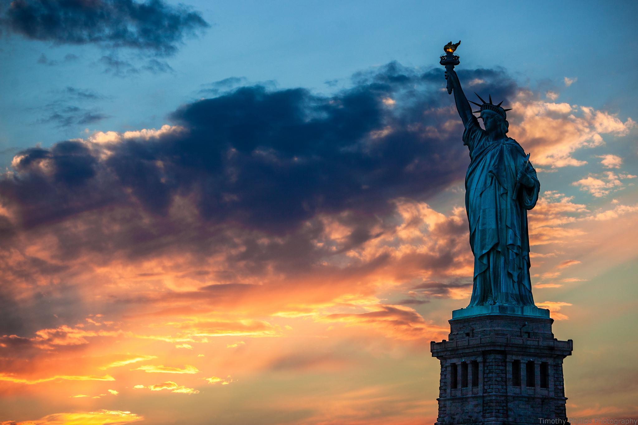 Statue Of Liberty Fond D'écran HD