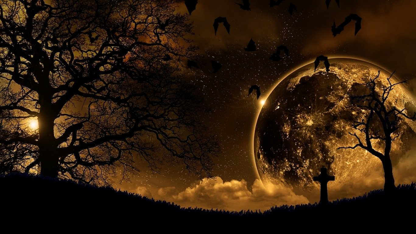 Fantasy - Dark  Landscape Wallpaper