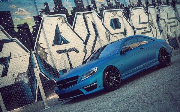 Vehicles Mercedes Mercedes-Benz Graffiti HD Wallpaper   Background Image