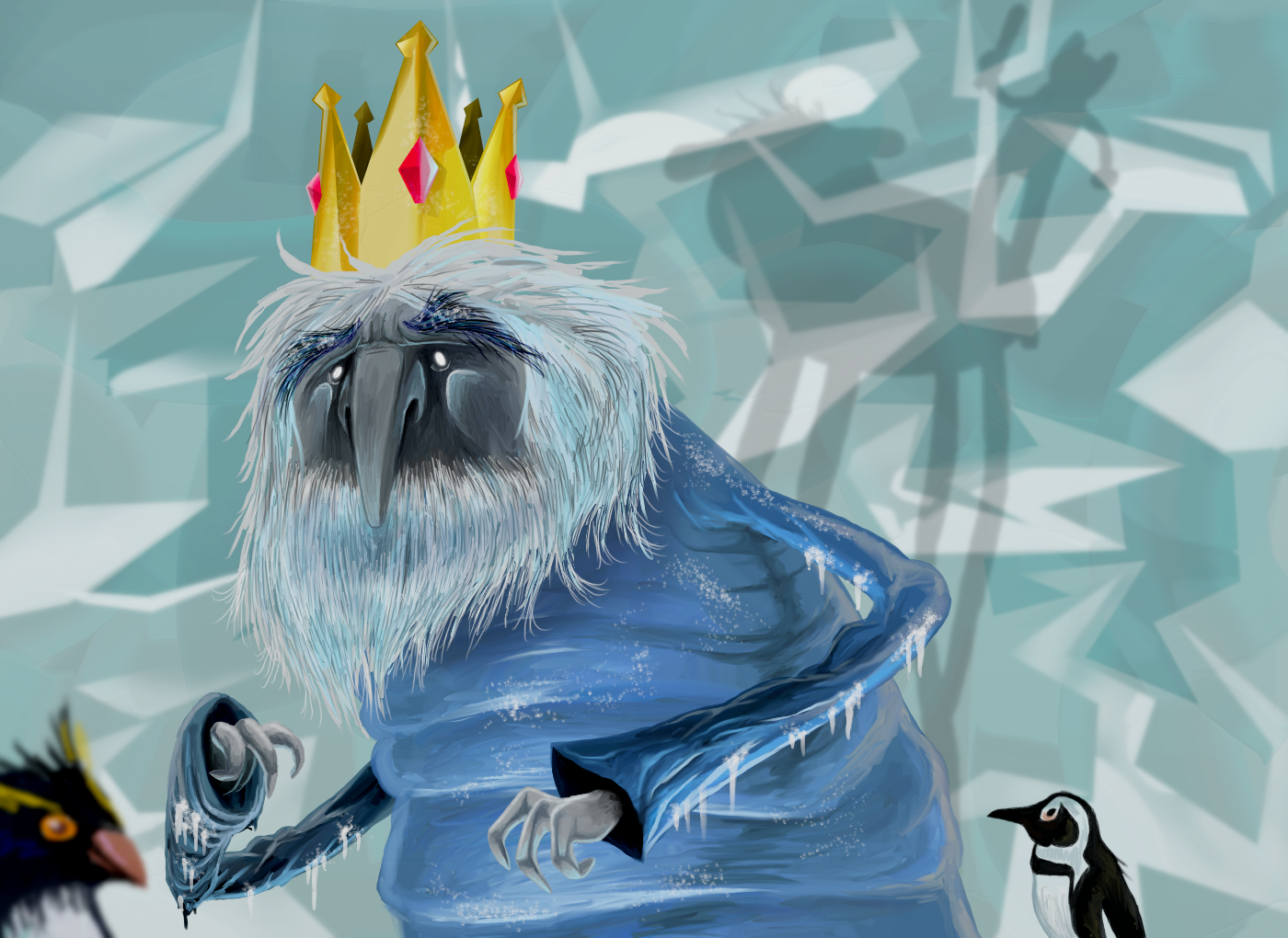 TV Show - Adventure Time  Ice King (Adventure Time) Wallpaper