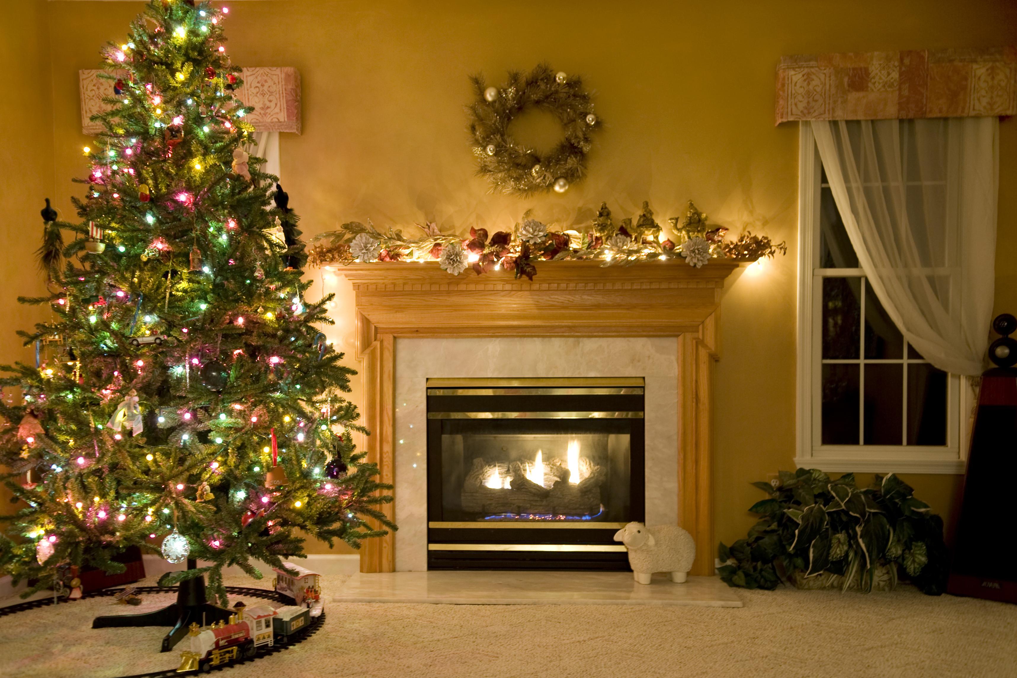 big christmas tree in houston