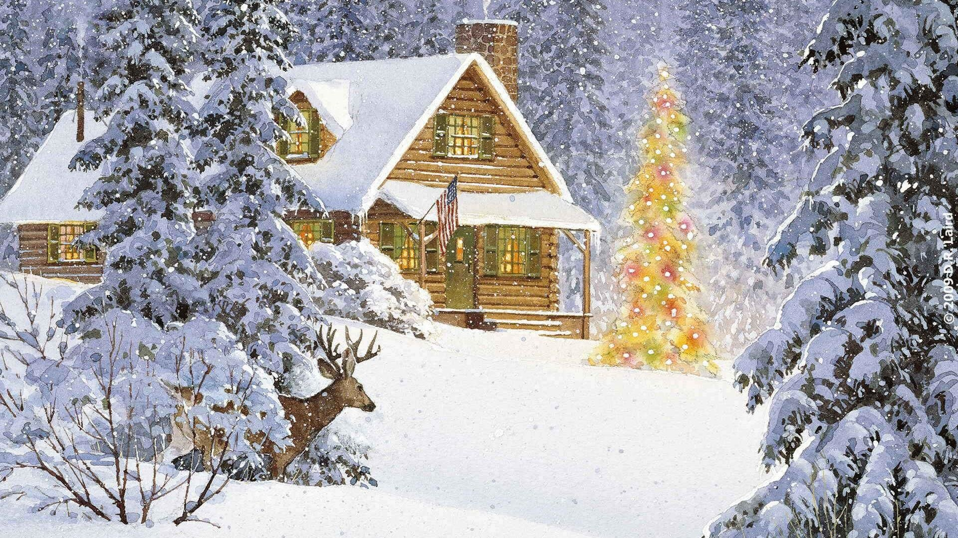 Holiday - Christmas  Christmas Tree Wallpaper