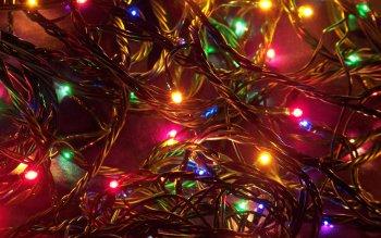 224 Christmas Lights HD Wallpapers