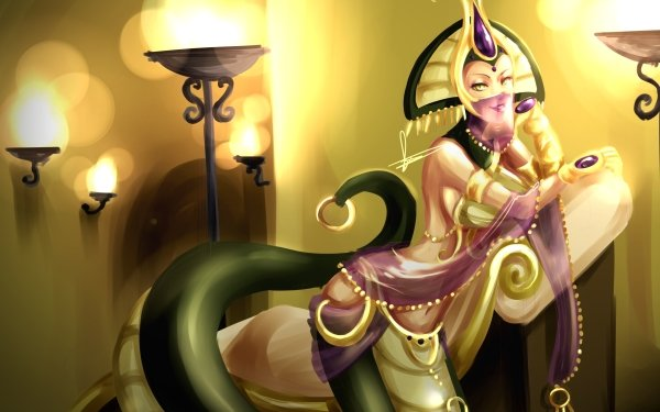 Video Game League Of Legends Woman Fantasy Cassiopeia HD Wallpaper | Background Image