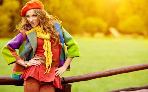 Women Fashion Model Style Mood Fall HD Wallpaper | Background Image