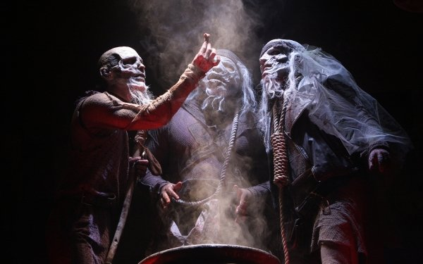 Dark Witch Horror Creepy Spooky Scary Halloween Shakespeare Theatre HD Wallpaper | Background Image